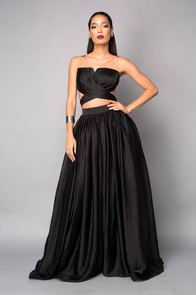 Exclusive Runway Party Gown Black