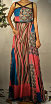 Sleeveless printed gown - Vitamin Sonalika