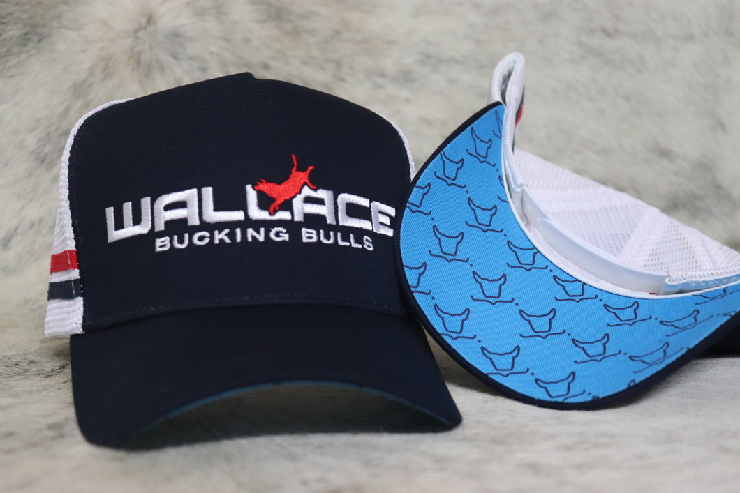 Wallace Bucking Bulls Navy Trucker