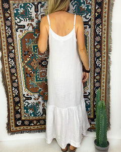 Luxe Linen Margot Dress