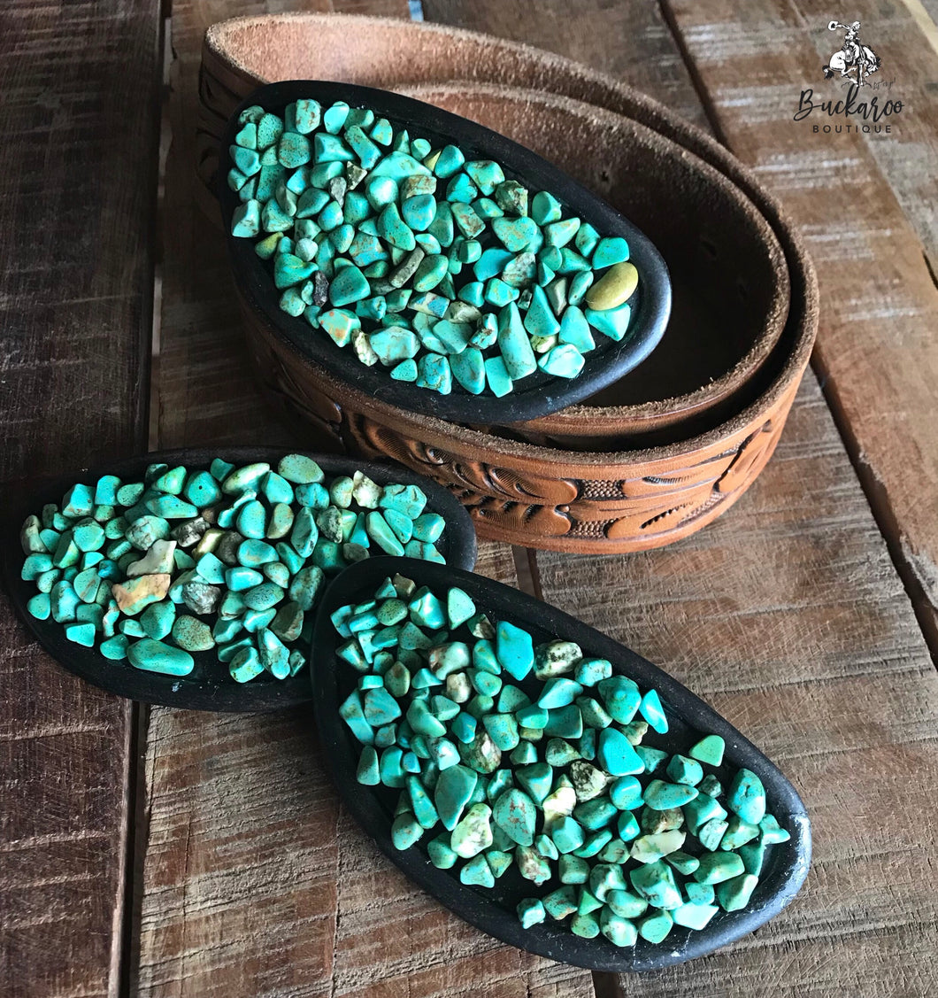 Turquoise Cluster Buckle