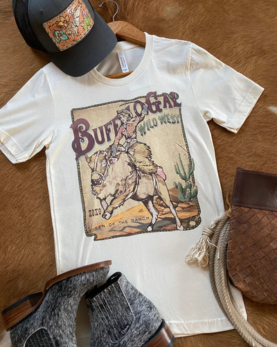Buffalo Gal Wild West Tee