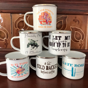 Enamel Camp Cups
