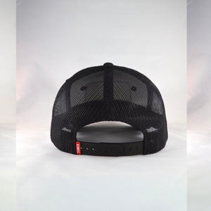 Kimes Ranch Black Mesh Trucker /SnapBack