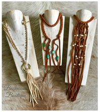 Vestige Elk Braided Macrame Necklace