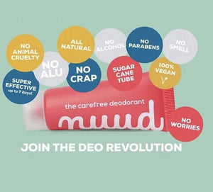 All Natural Deodorant - Nuudcare