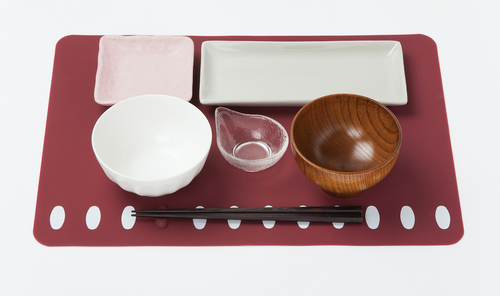 Solcion Chopstick rest placemat 餐具托創意餐墊(橫款)