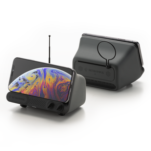Retroduck Q - Superb Fast Wireless Charger + Dock - POP Gallery