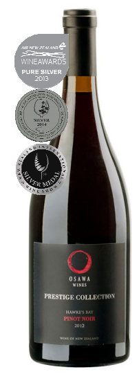 OSAWA 2012 PRESTIGE COLLECTION PINOT NOIR