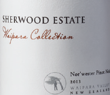 WAIPARA COLLECTION NOR'WESTER 2015 PINOT NOIR