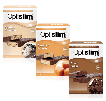 Optislim VLCD Bar 3 Flavour Pack Optislim