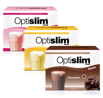 Optislim VLCD Meal Replacement Shake 3 Flavour Pack