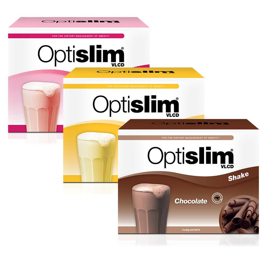 Optislim VLCD Meal Replacement Shake 3 Pack Optislim