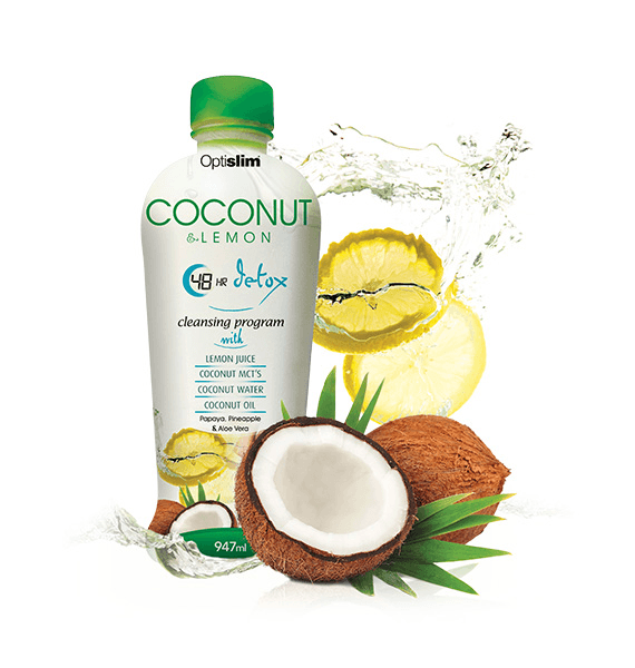 Optislim Coconut Lemon 48 Hour Detox Detox OptiSlim