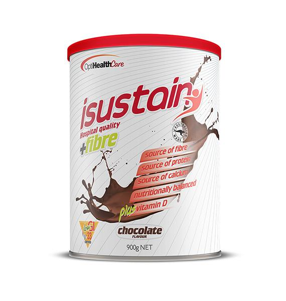isustain Hospital Quality plus Fibre Chocolate