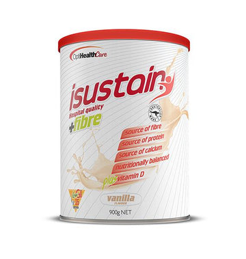isustain Hospital Quality plus Fibre Vanilla Formula isustain