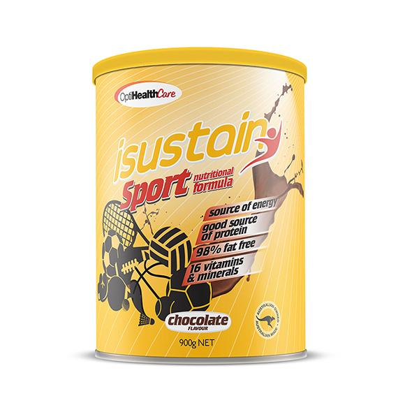 isustain Sport Supplementary Formula Chocolate