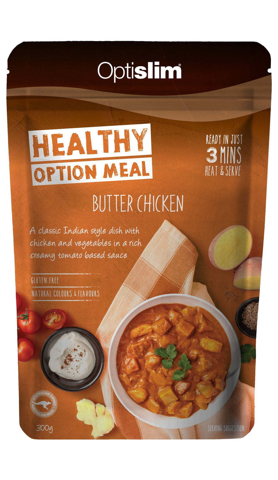 Healthy Meal Option Butter Chicken New Weight Loss OptiSlim