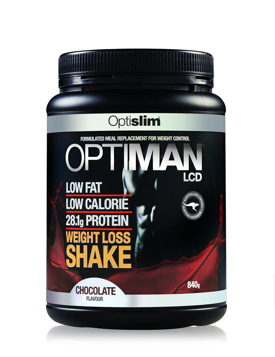 Optiman Weight Loss Shake - Chocolate Flavour