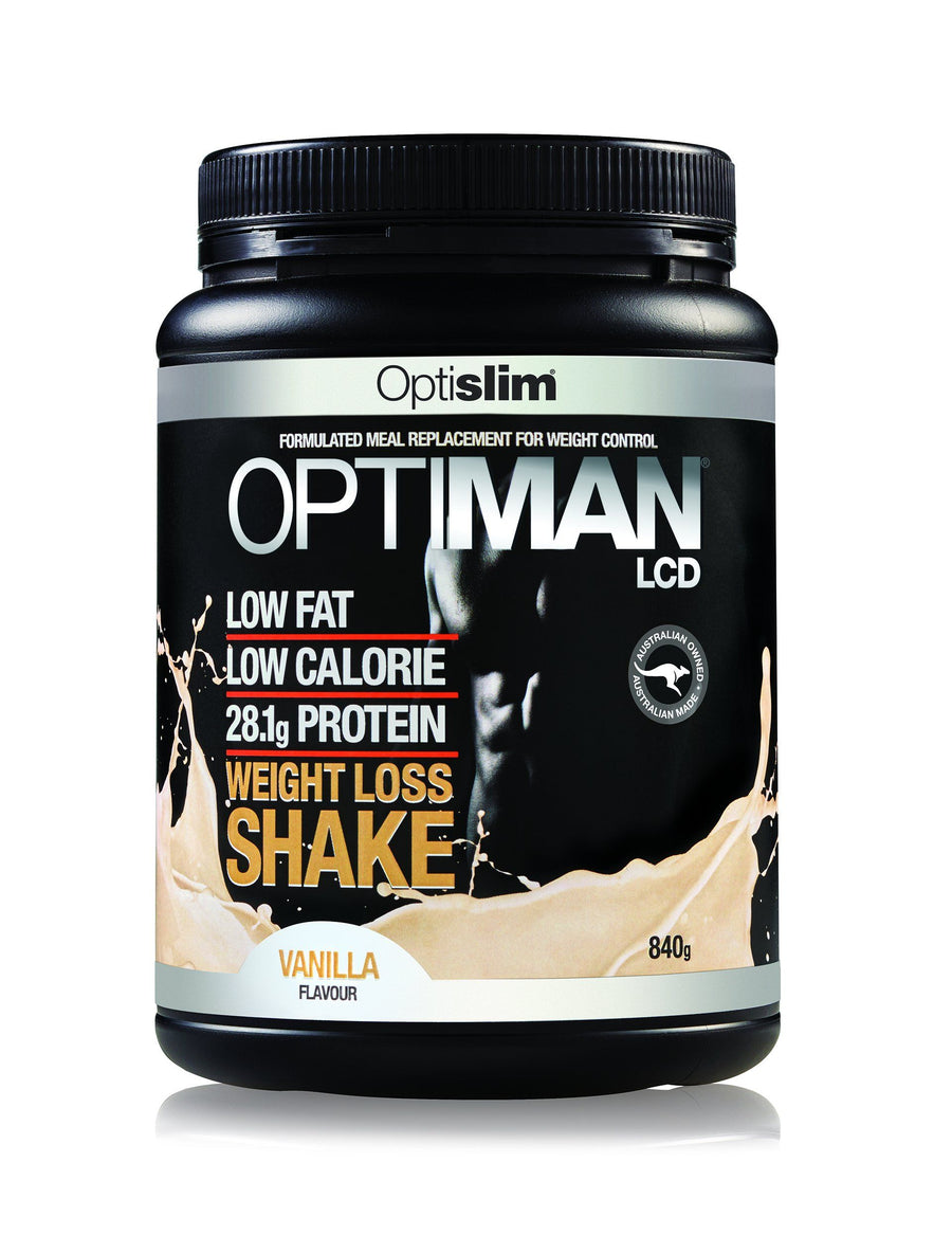 Optiman Weight Loss Shake - Vanilla Flavour Weight Loss Optiman
