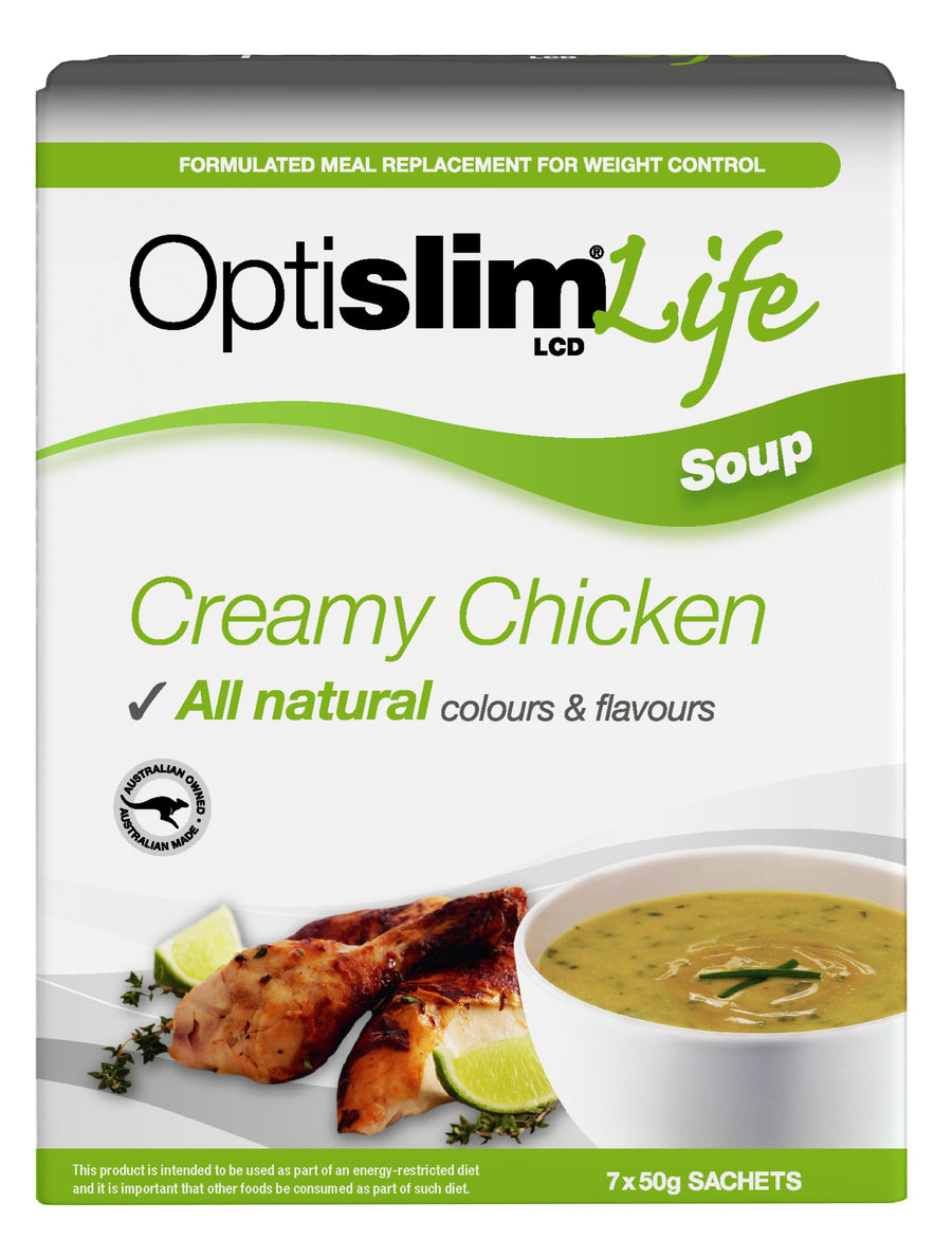 Optislim Life LCD Soup Creamy Chicken (7x50g)