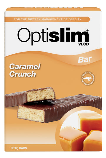 Optislim VLCD Bar Caramel Crunch (5x60g)