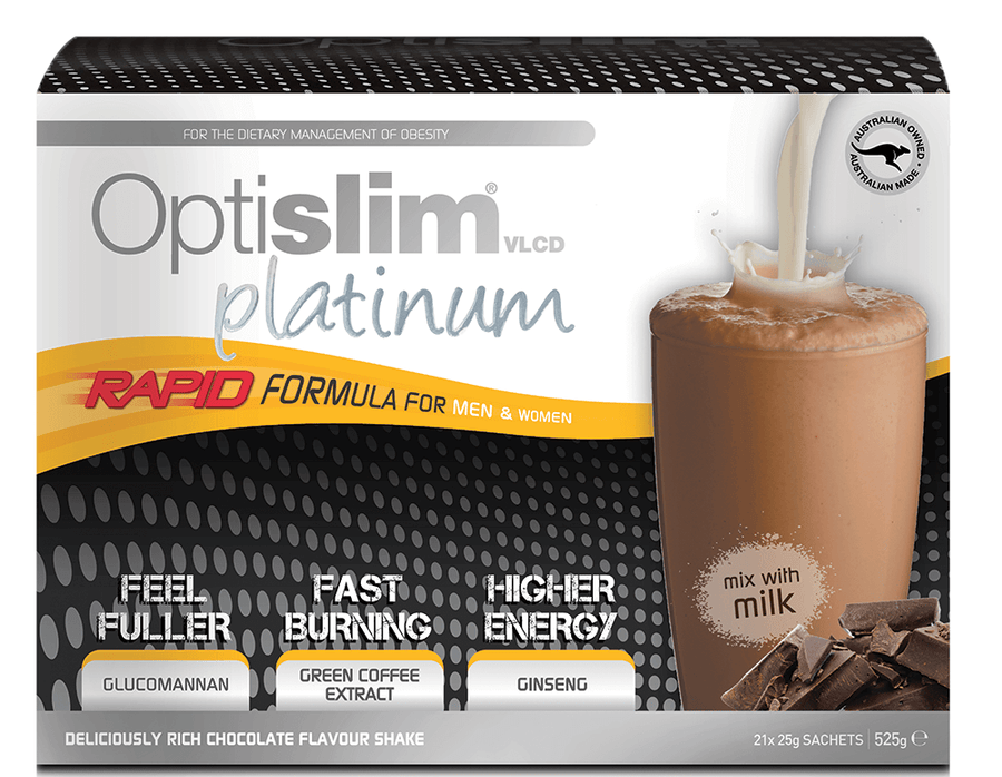 4 Week Weight Loss Platinum Pack - NEW Weight Loss OptiSlim