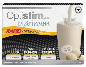 Optislim VLCD Platinum Meal Replacement Shake Vanilla (21x25g)