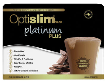 Optislim VLCD Platinum Plus Meal Replacement Shake Chocolate