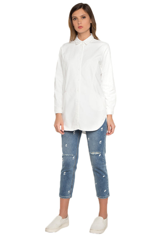 High Low Long Sleeve Shirt frontside