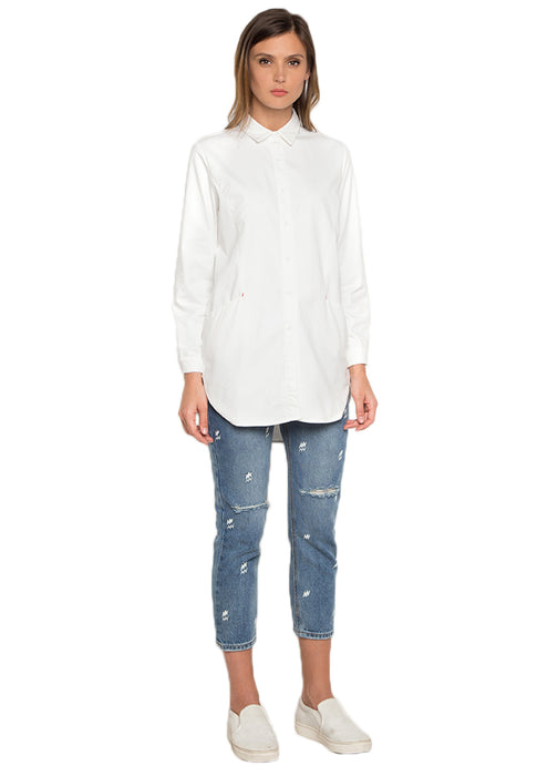 High Low Long Sleeve Shirt