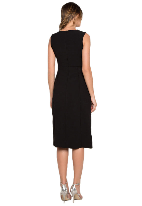 Circled Sheath Midi Dress backside