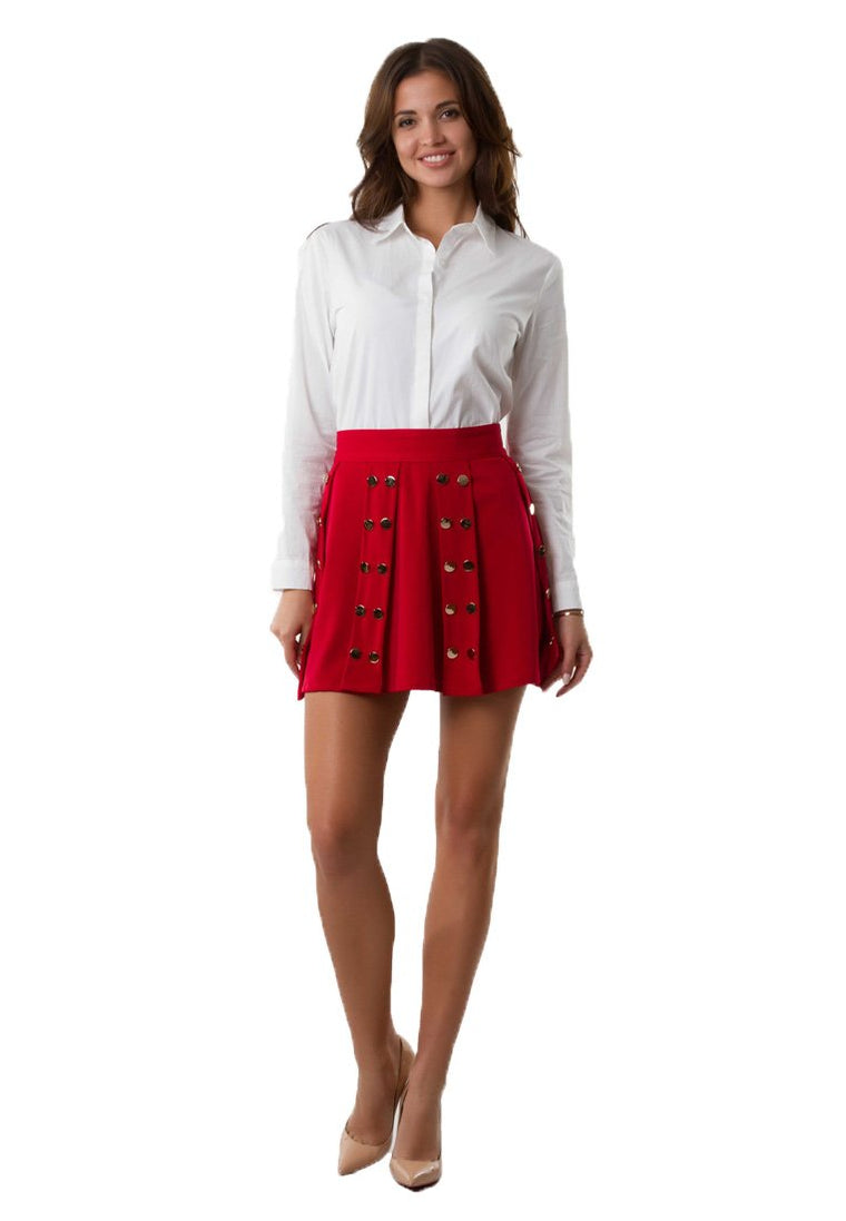 Red Rock Pleated Skirt