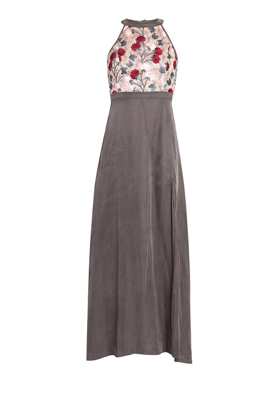 Leia Floral Maxi Dress nomodel