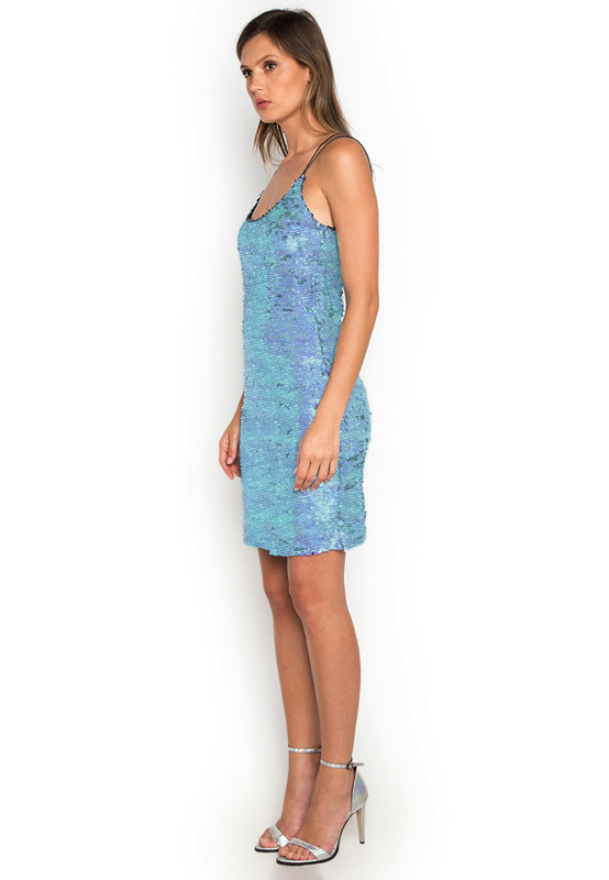 Leia Sequins Slip Dress leftside