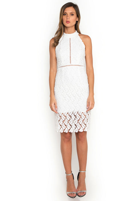 Hollow Out Crochet Dress