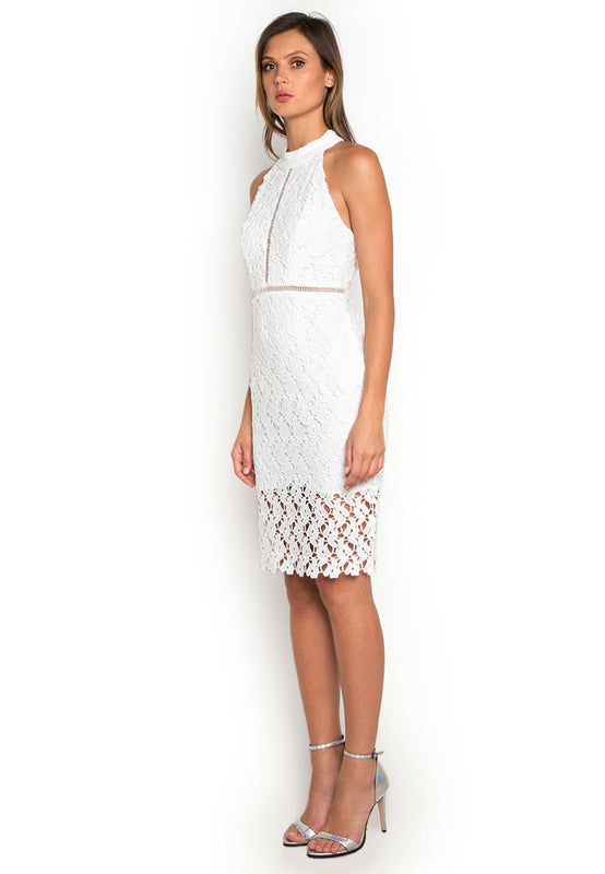 Hollow Out Crochet Dress leftside