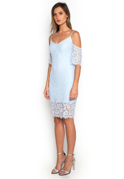 Off Shoulder Lace Dress leftside