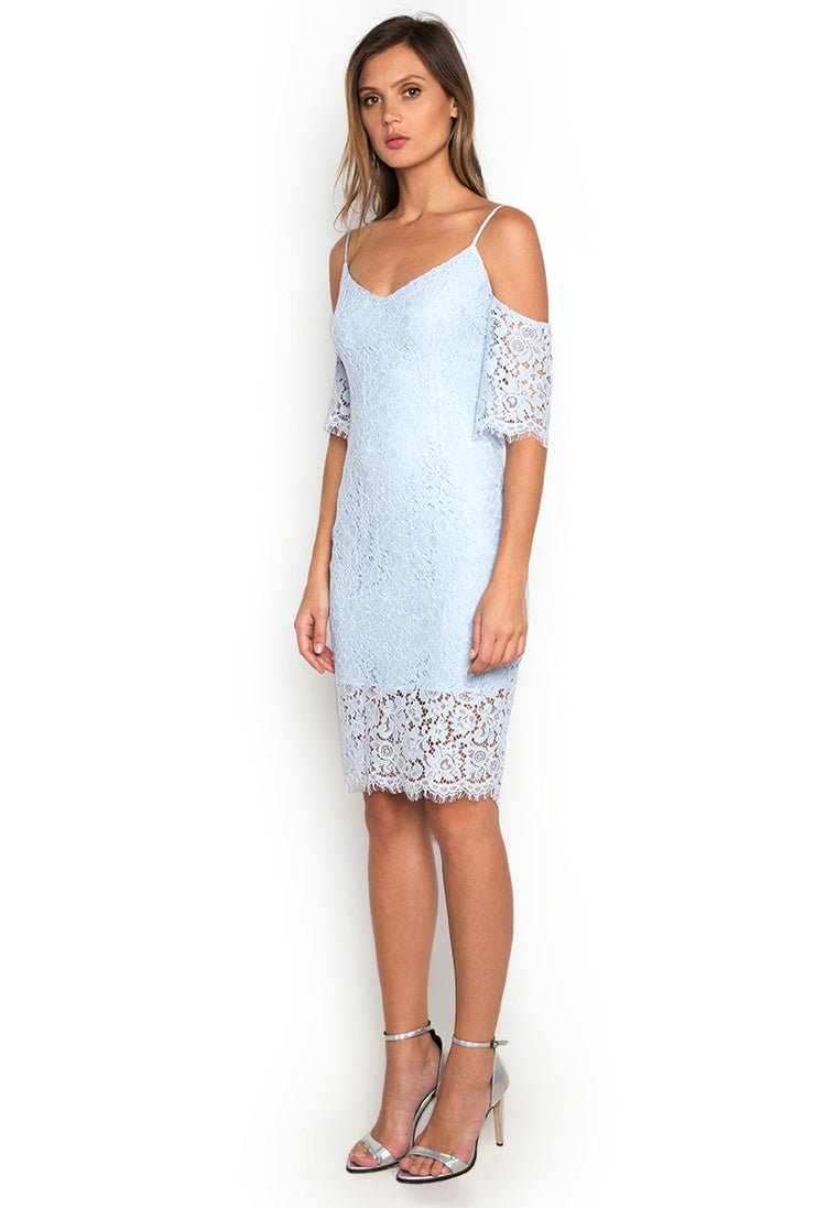 Off Shoulder Lace Dress nomode
