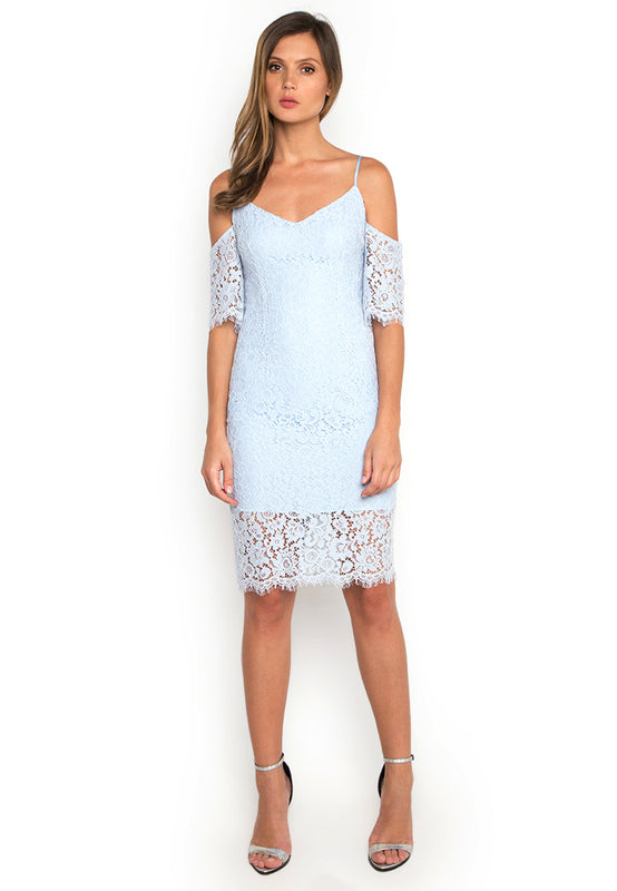 Off Shoulder Lace Dress frontside