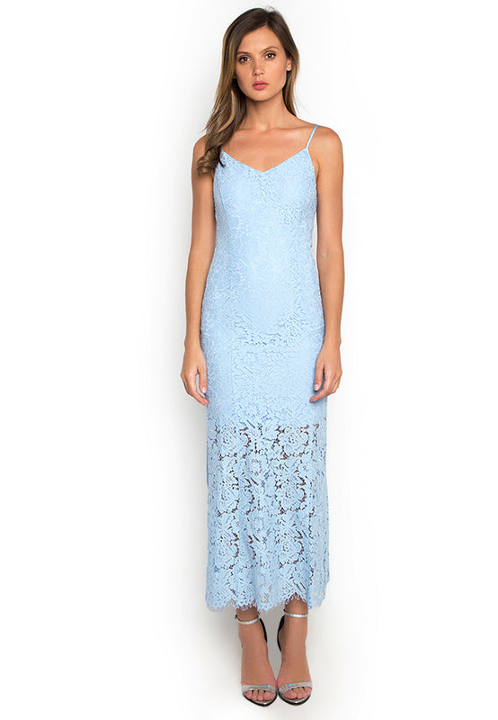 Laced Mermaid Maxi Dress