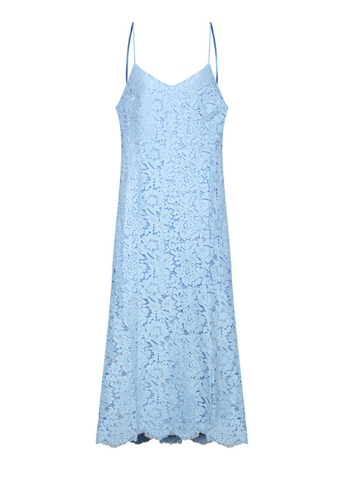 Laced Mermaid Maxi Dress nomodel