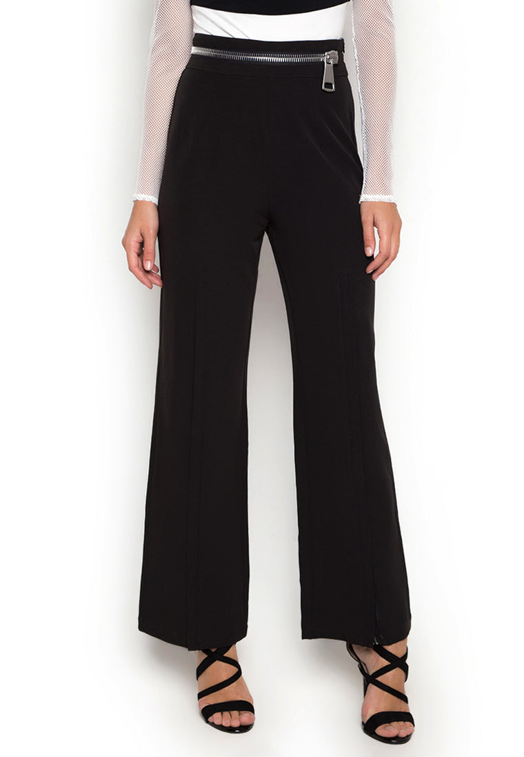 Zoey Zipper Trousers