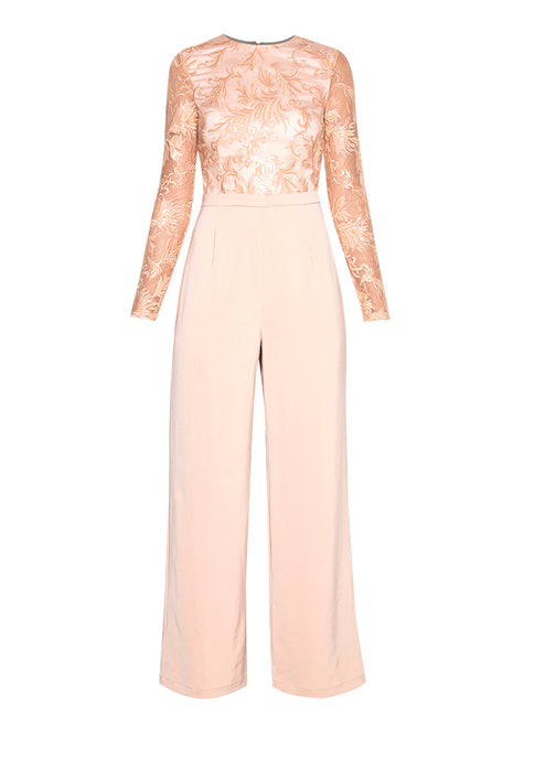 Applicated Elegant Jumpsuit nomodel