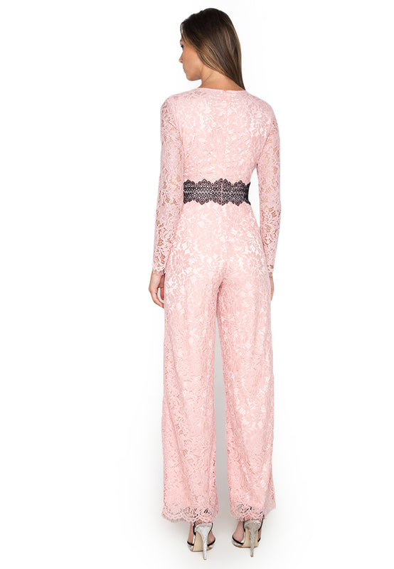 Grace Long Sleeve Jumpsuit backside