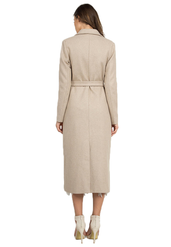 Long Wollen Coat backside