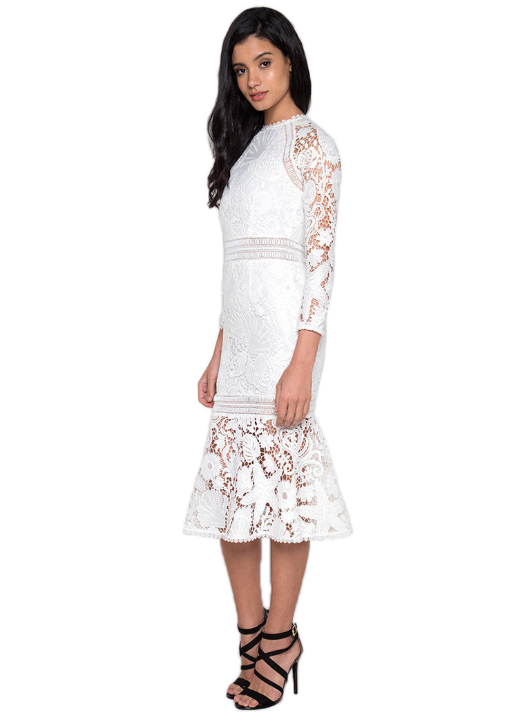 White Lace Missy Dress