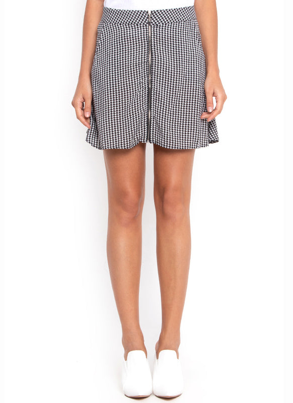Brit Pop Checkered Skirt