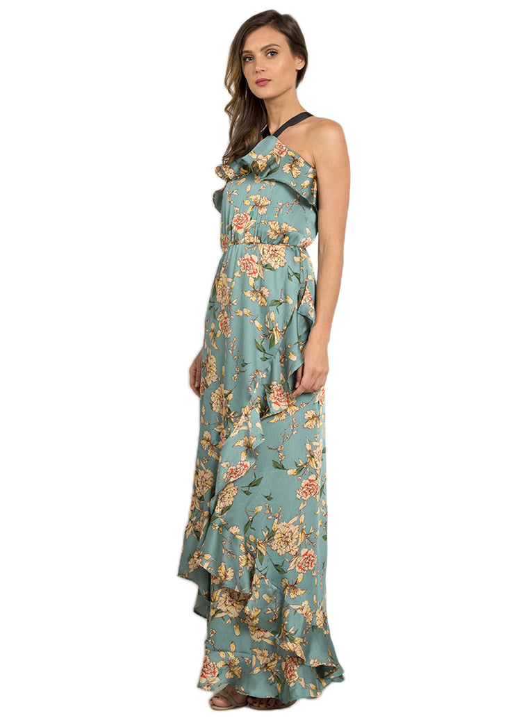 Versailles Floral Maxi Dress