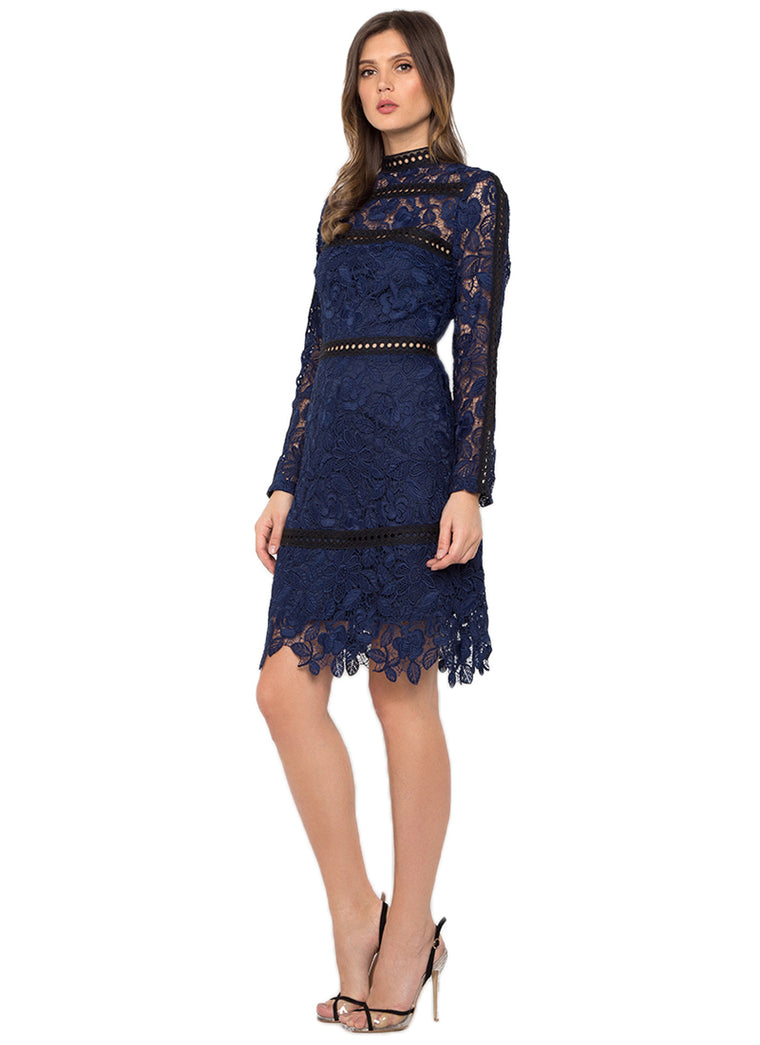 Navy Blue Missy Dress
